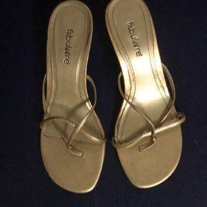 3/$15 Gold heels